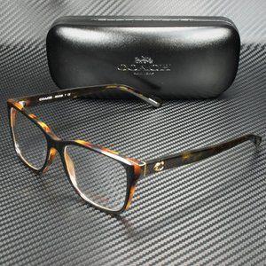 COACH Brown Black 54mm Eyeglasses